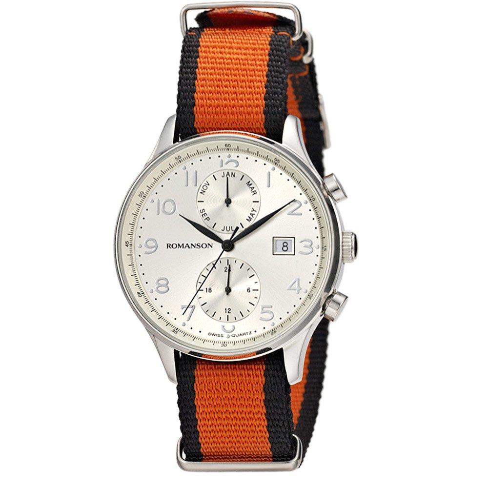 Часы Romanson TL4218FMWH-WH-BR