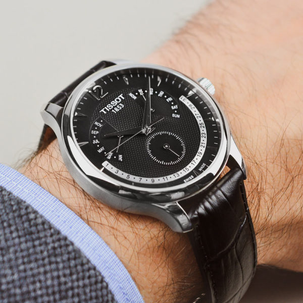 Мужские наручные часы TISSOT Tradition T063.637.16.057.00 - Фото № 7