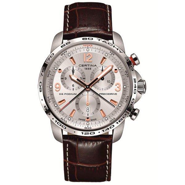 Мужские наручные часы CERTINA Sport DS Podium Chronograph 1/100 sec C001.647.16.037.01