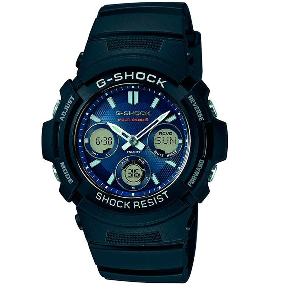 Часы Casio awg-m100sb-2aer