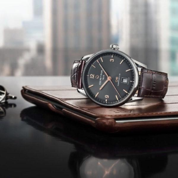 Мужские наручные часы CERTINA Urban DS-1 Powermatic 80 C029.807.16.081.01 - Фото № 7