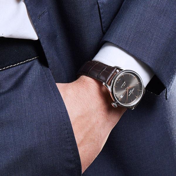 Мужские наручные часы CERTINA Urban DS-1 Powermatic 80 C029.807.16.081.01 - Фото № 9