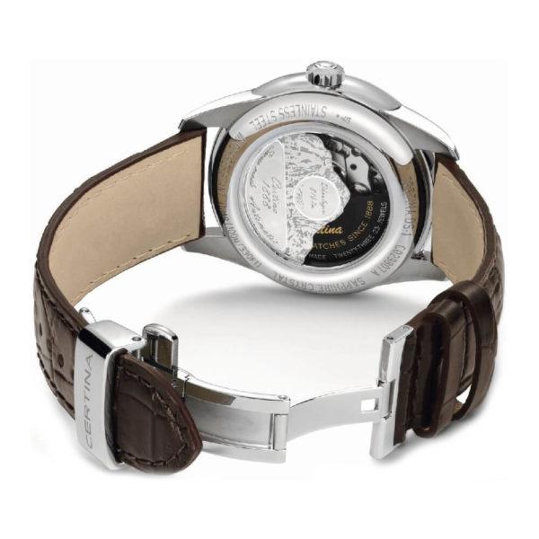 Мужские наручные часы CERTINA Urban DS-1 Powermatic 80 C029.807.16.081.01 - Фото № 8