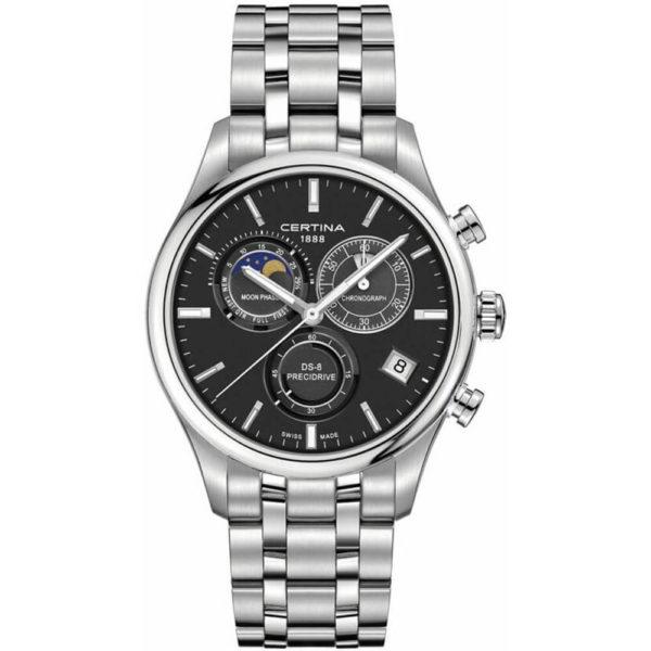 Мужские наручные часы CERTINA Urban DS-8 Chronograph Moon Phase C033.450.11.051.00 - Фото № 5