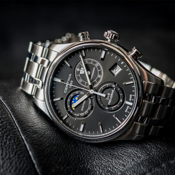 Мужские наручные часы CERTINA Urban DS-8 Chronograph Moon Phase C033.450.11.051.00 - Фото № 9