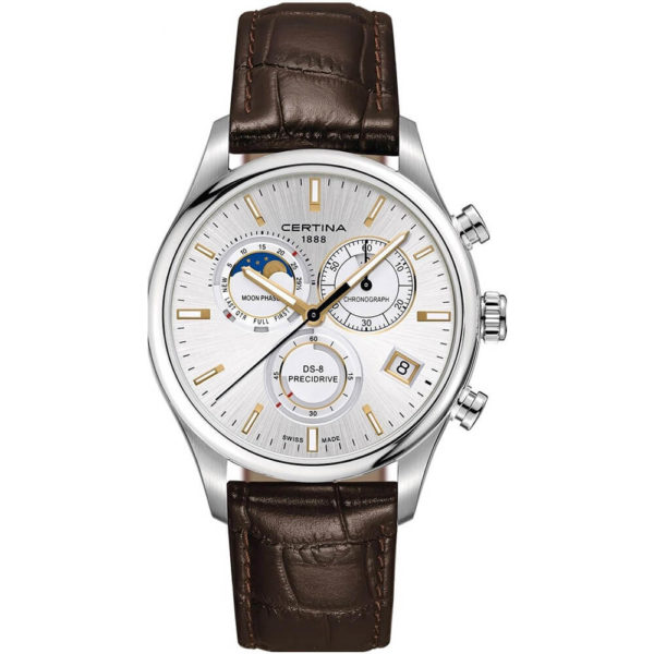Мужские наручные часы CERTINA Urban DS-8 Chronograph Moon Phase C033.450.16.031.00 - Фото № 4