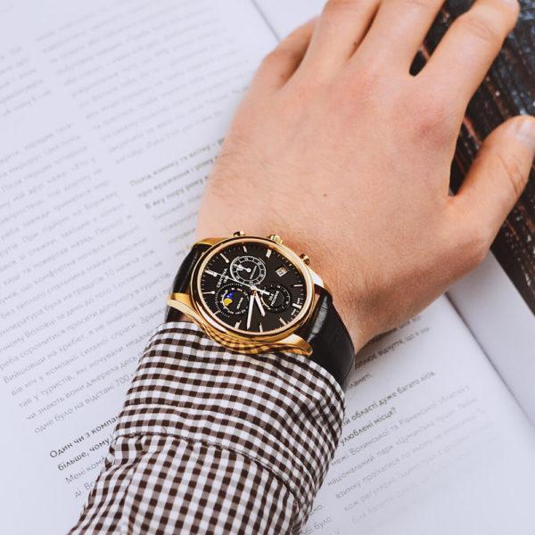 Мужские наручные часы CERTINA Urban DS-8 Chronograph Moon Phase C033.450.36.051.00 - Фото № 7