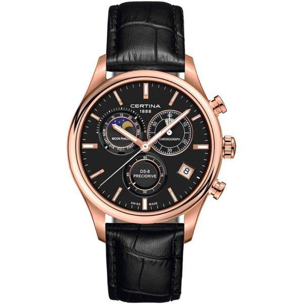 Мужские наручные часы CERTINA Urban DS-8 Chronograph Moon Phase C033.450.36.051.00 - Фото № 4