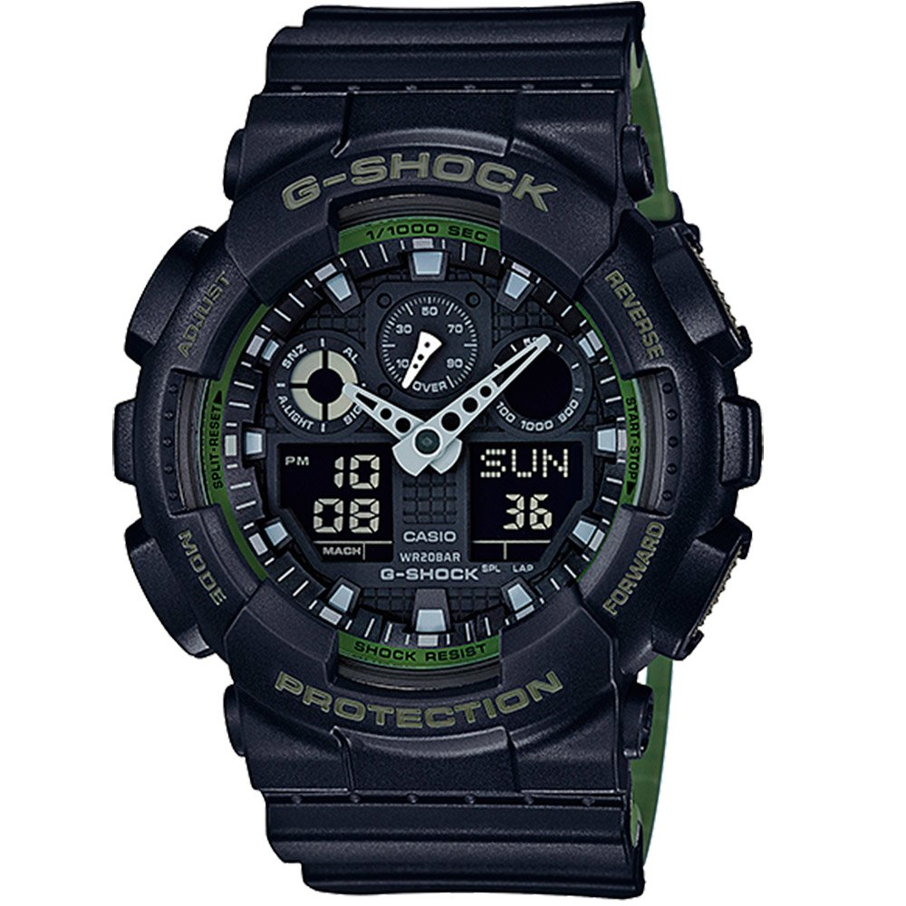Часы Casio ga-100l-1aer