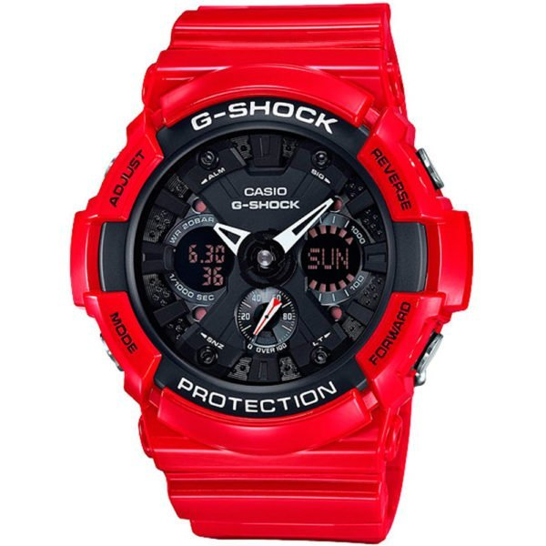 Мужские наручные часы CASIO G-Shock GA-201RD-4AER