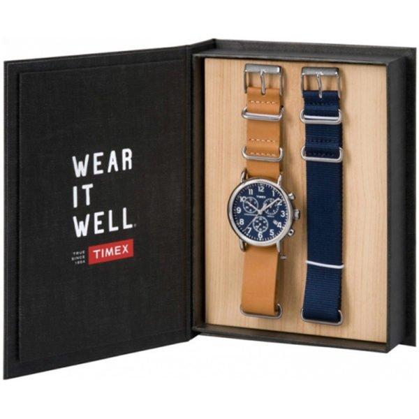 Мужские наручные часы Timex WEEKENDER Tx012800-wg