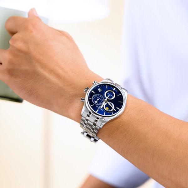 Мужские наручные часы CERTINA Urban DS-8 Chronograph Moon Phase C033.450.11.041.00 - Фото № 6
