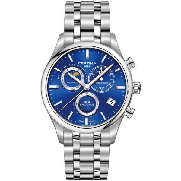 Мужские наручные часы CERTINA Urban DS-8 Chronograph Moon Phase C033.450.11.041.00 - Фото № 4