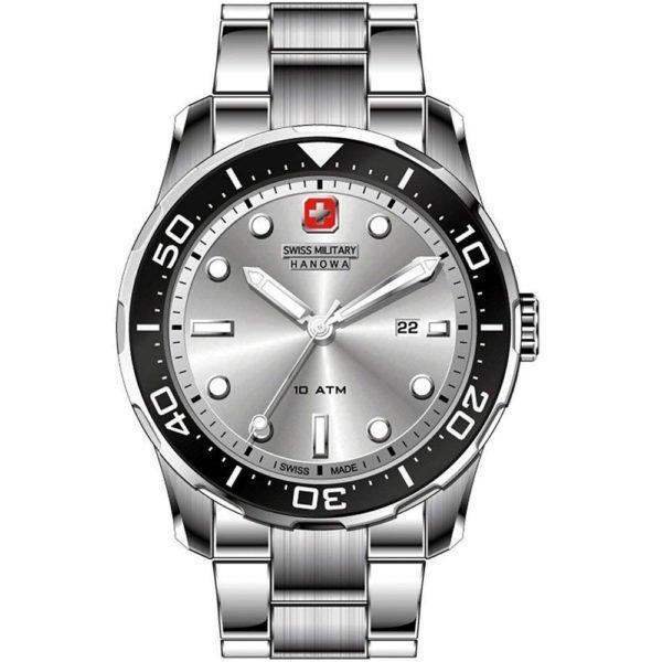 Мужские наручные часы SWISS MILITARY HANOWA Navy Line 06-5213.04.001