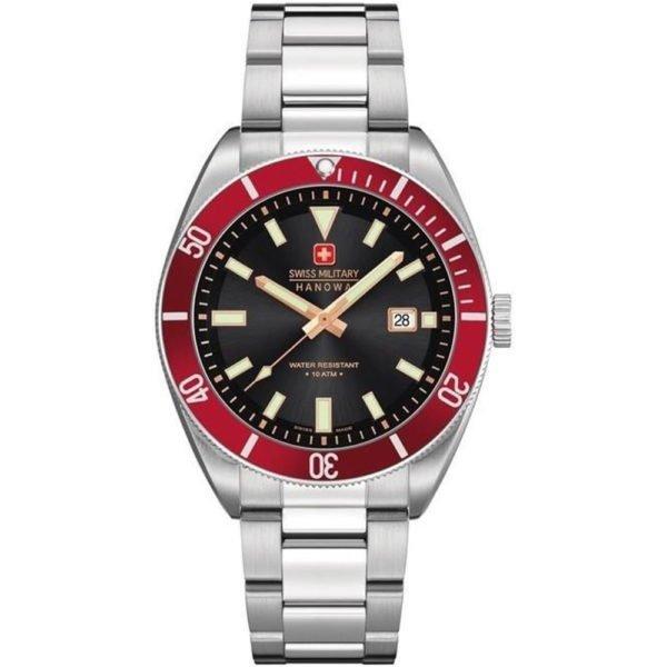 Мужские наручные часы SWISS MILITARY HANOWA Navy Line 06-5214.04.007.04