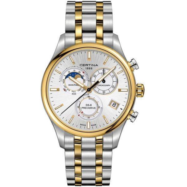 Мужские наручные часы CERTINA Urban DS-8 Chronograph Moon Phase C033.450.22.031.00