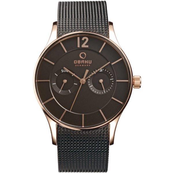 Мужские наручные часы OBAKU  V175GMVBMB1