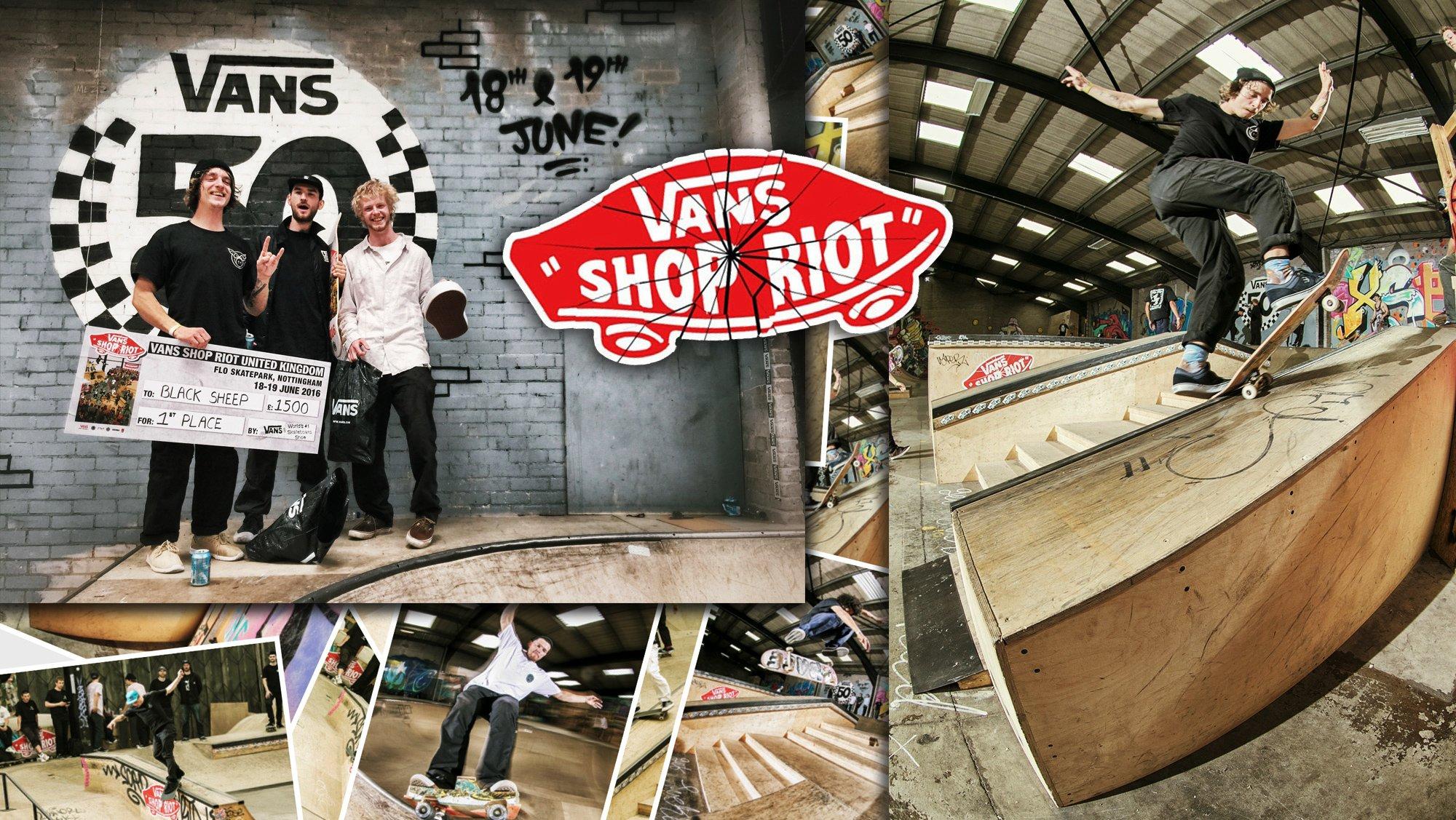 Vans Shop Riot