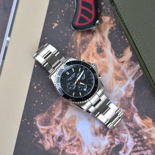 Мужские наручные часы VICTORINOX SWISS ARMY MAVERICK V241695 - Фото № 9