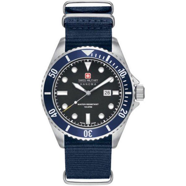 Мужские наручные часы SWISS MILITARY HANOWA Navy Line 06-4279.04.007.03
