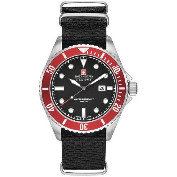 Мужские наручные часы SWISS MILITARY HANOWA Navy Line 06-4279.04.007.04