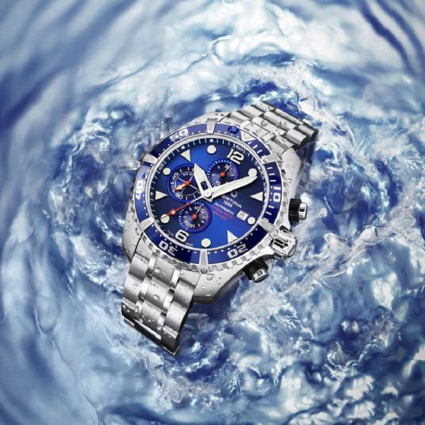 Мужские наручные часы CERTINA Aqua DS Action Diver Chronograph Automatic C032.427.11.041.00 - Фото № 8