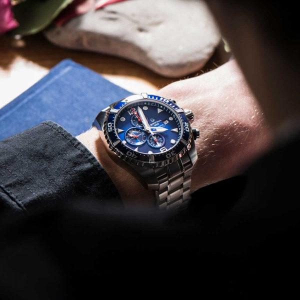 Мужские наручные часы CERTINA Aqua DS Action Diver Chronograph Automatic C032.427.11.041.00 - Фото № 7