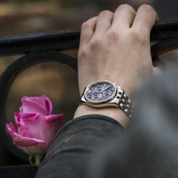 Женские наручные часы CERTINA Urban DS-8 Lady Chronograph C033.234.22.088.00 - Фото № 9