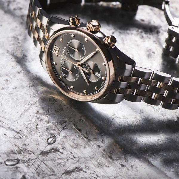 Женские наручные часы CERTINA Urban DS-8 Lady Chronograph C033.234.22.088.00 - Фото № 8