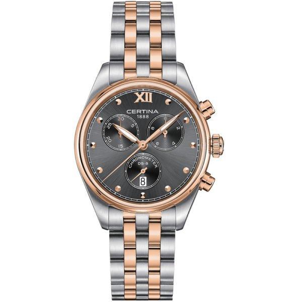 Женские наручные часы CERTINA Urban DS-8 Lady Chronograph C033.234.22.088.00 - Фото № 5