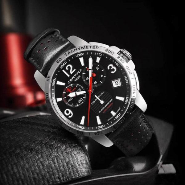 Мужские наручные часы CERTINA Sport DS Podium Chronograph Lap Timer C034.453.16.057.00 - Фото № 6
