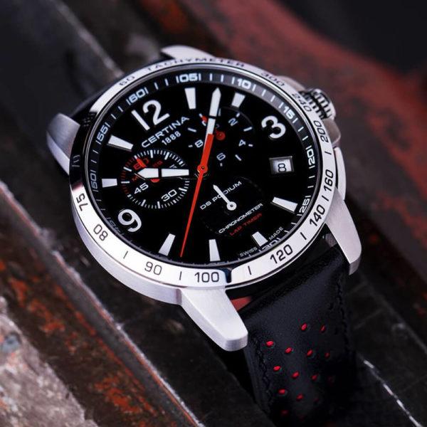 Мужские наручные часы CERTINA Sport DS Podium Chronograph Lap Timer C034.453.16.057.00 - Фото № 7