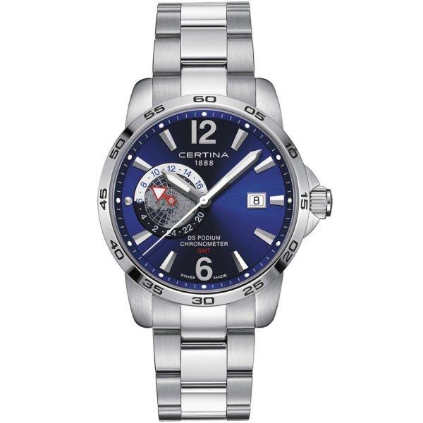Мужские наручные часы CERTINA Sport DS Podium GMT C034.455.11.047.00