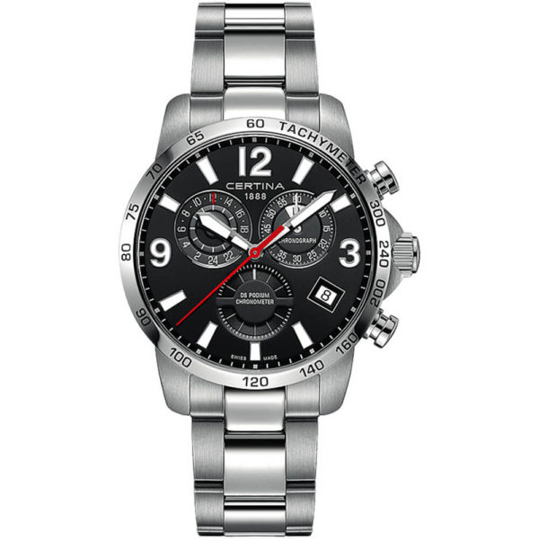 Мужские наручные часы CERTINA Sport DS Podium Chronograph GMT C034.654.11.057.00
