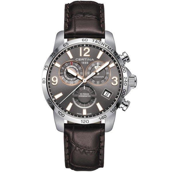 Мужские наручные часы CERTINA Sport DS Podium Chronograph GMT C034.654.16.087.01