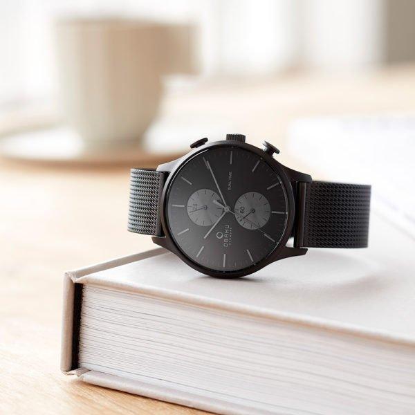 Мужские наручные часы OBAKU  V196GUBBMB
