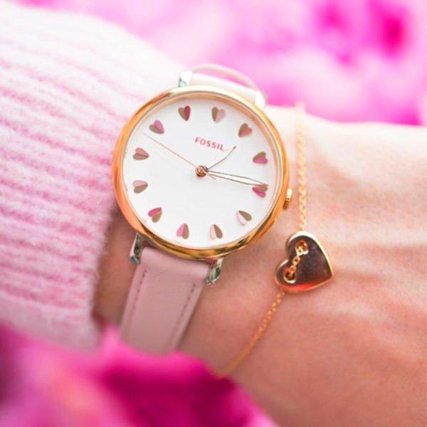 Женские наручные часы FOSSIL Jacqueline ES4351SET - Фото № 8