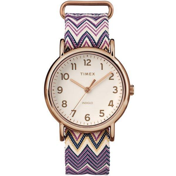 Женские наручные часы Timex WEEKENDER Tx2r59000 - Фото № 4