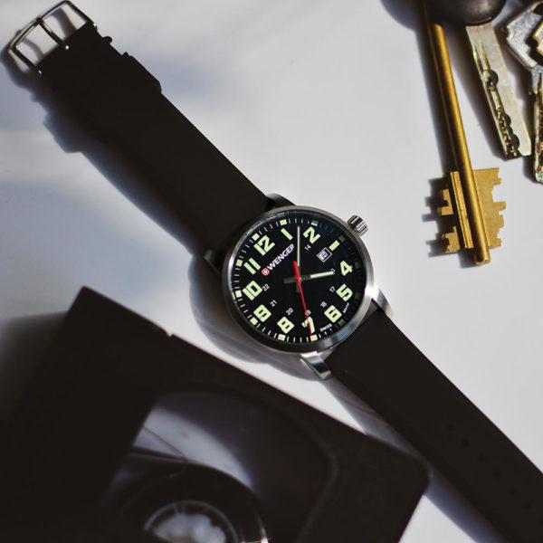 Мужские наручные часы WENGER Avenue W01.1641.110 - Фото № 7