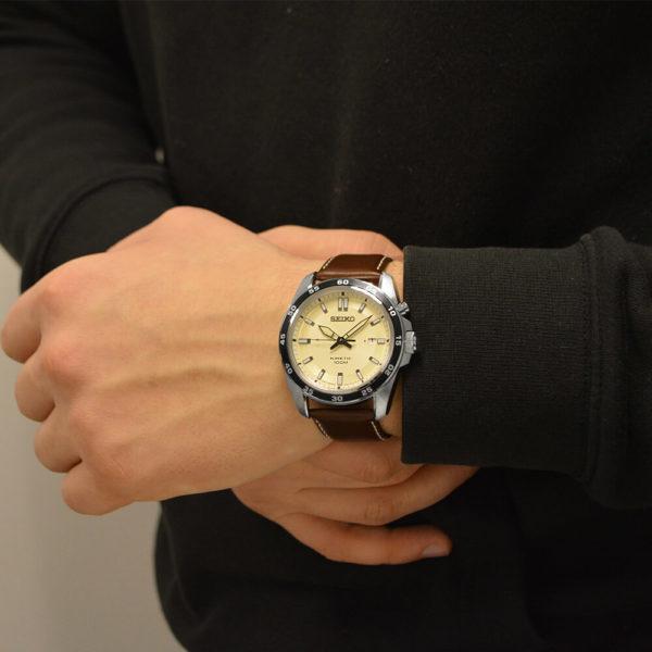 Мужские наручные часы SEIKO CS Dress SKA787P1 - Фото № 7