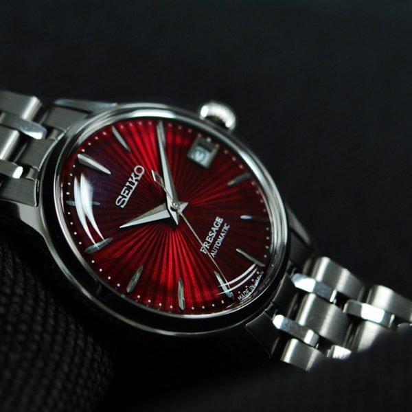 Женские наручные часы SEIKO Presage Cocktail Time Kir Royal SRP853J1 - Фото № 13