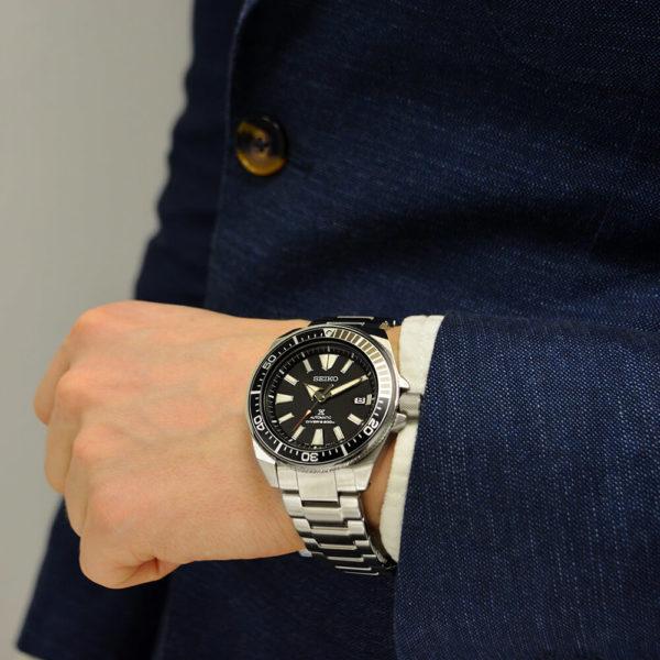 Мужские наручные часы SEIKO Prospex Samurai SRPF03K1 - Фото № 11