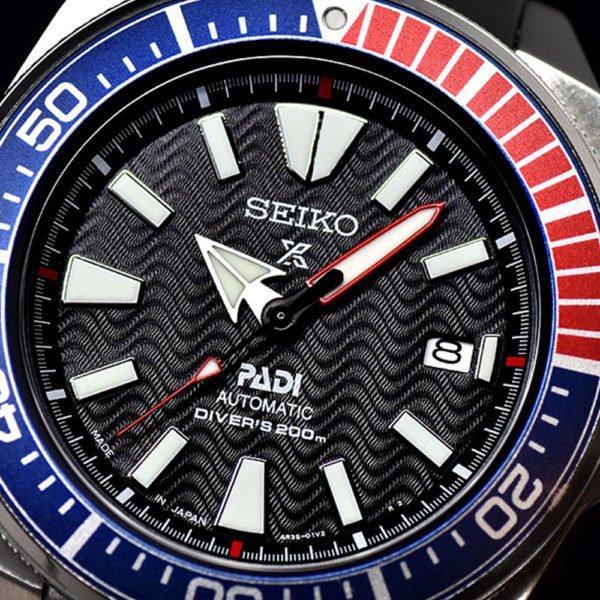 Мужские наручные часы SEIKO Prospex Samurai PADI Edition SRPF09K1 - Фото № 12
