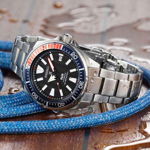 Мужские наручные часы SEIKO Prospex Samurai PADI Edition SRPF09K1 - Фото № 11