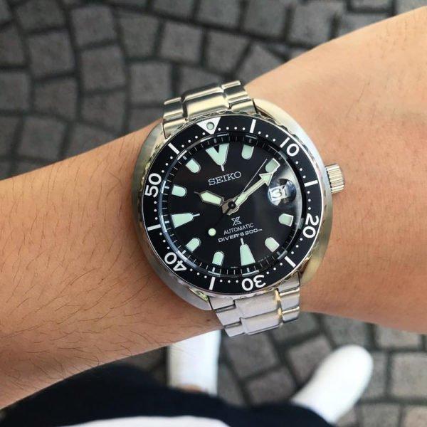 Мужские наручные часы SEIKO Prospex Baby Turtle SRPC35K1 - Фото № 10