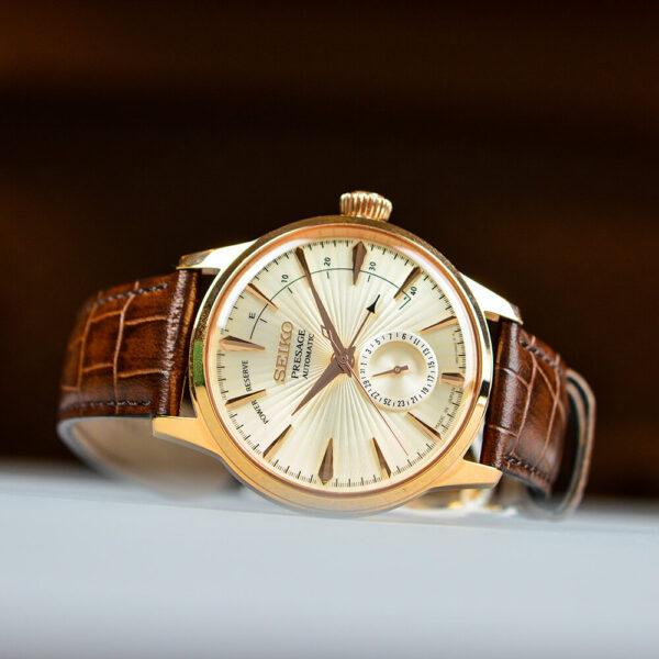 Мужские наручные часы SEIKO Presage Cocktail Time Sidecar SSA346J1 - Фото № 9