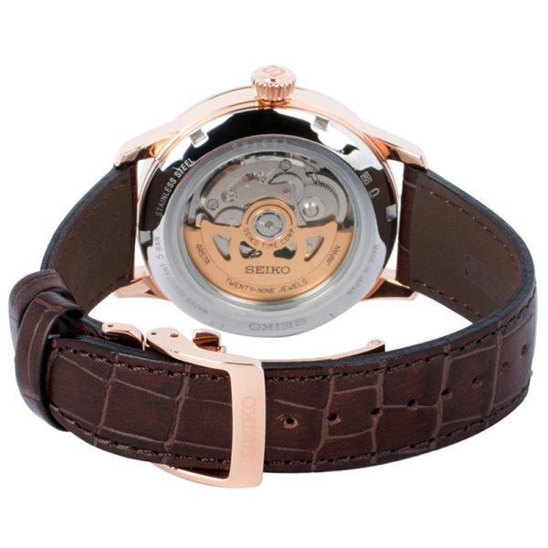 Мужские наручные часы SEIKO Presage Cocktail Time Sidecar SSA346J1 - Фото № 12