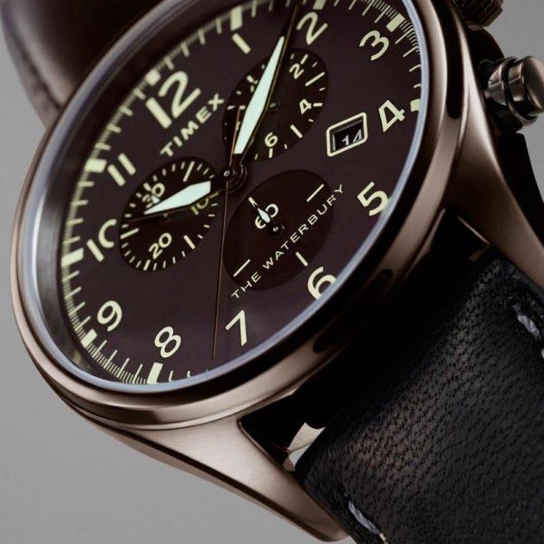 Мужские наручные часы Timex WATERBURY Tx2r88400 - Фото № 6