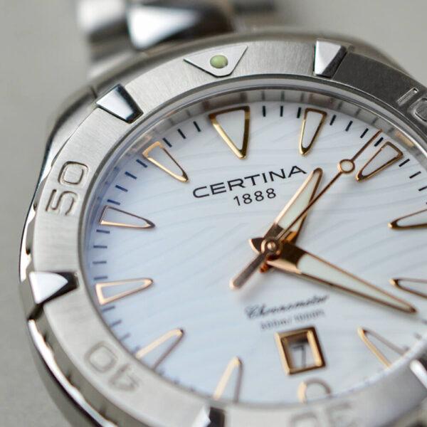 Женские наручные часы CERTINA Aqua DS Action Lady C032.251.11.011.01 - Фото № 11