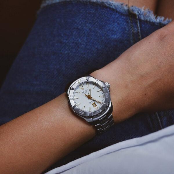 Женские наручные часы CERTINA Aqua DS Action Lady C032.251.11.011.01 - Фото № 13